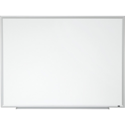 "3M DEP9648A 96 x 48"" Porcelain Dry Erase Board with 4 Dry Erasers"