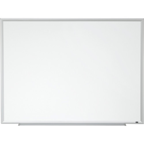 "3M DEP3624A 36 x 24"" Porcelain Dry Erase Board with 4 Dry Erasers"