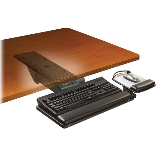 3M AKT151LE Adjustable Keyboard Tray with Easy-Adjust Arm