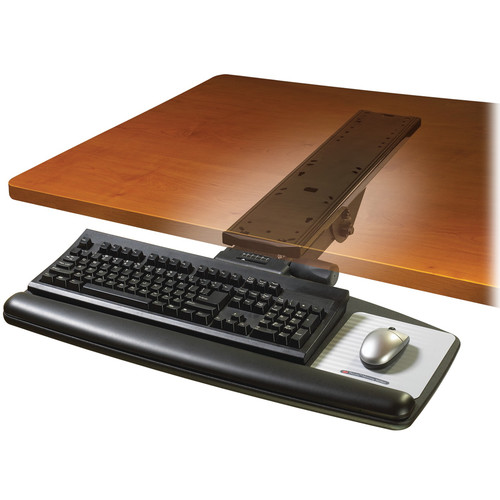 3M AKT90LE Adjustable Keyboard Tray with Easy-Adjust Arm
