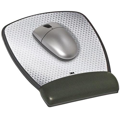 3M MW309LE Gel Mouse Pad Wrist Rest (Leatherette)