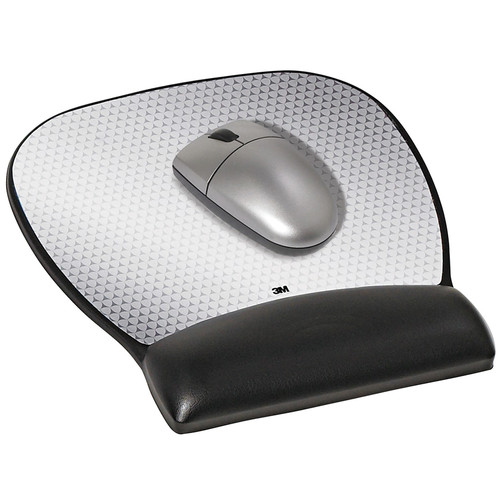 3M MW310LE Large Gel Mouse Pad Wrist Rest (Leatherette)