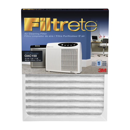 3M Filtrete Replacement Filter for OAC150 Office Air Cleaner