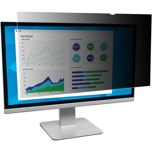 """3M PF320W9B 32"""" Privacy Filter for Widescreen Monitor"""