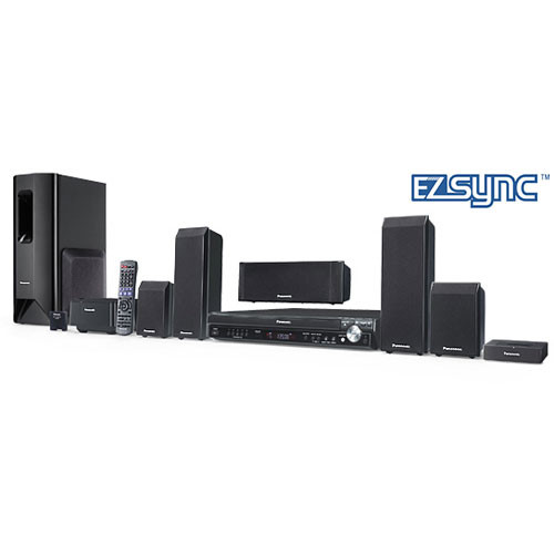 panasonic sc pt750 home theater system sc pt750 b h photo video. Black Bedroom Furniture Sets. Home Design Ideas