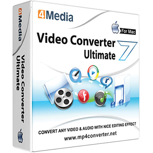 4Media Software Studio Video Converter Ultimate Software for Mac