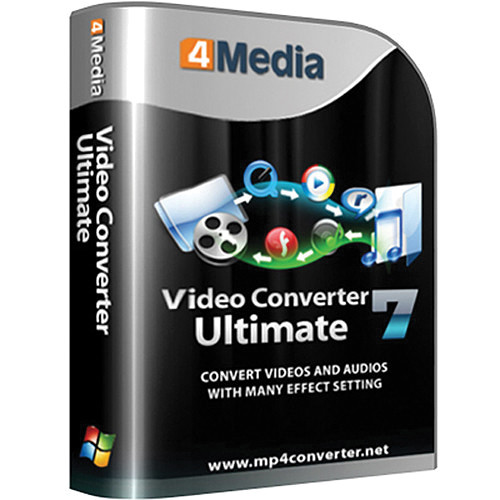 4Media Software Studio Video Converter Ultimate Software for Windows