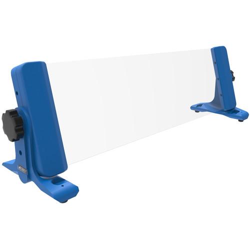 4TEKY 3 RU Rack for Desktop/Wall/Rack + Screen Protection (Blue)