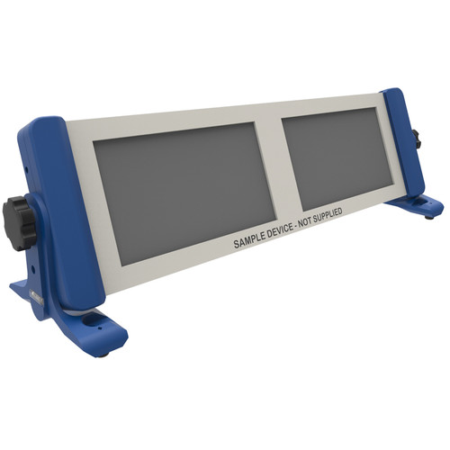 4TEKY 3 RU Rack for Desktop/Wall/Rack (Blue)
