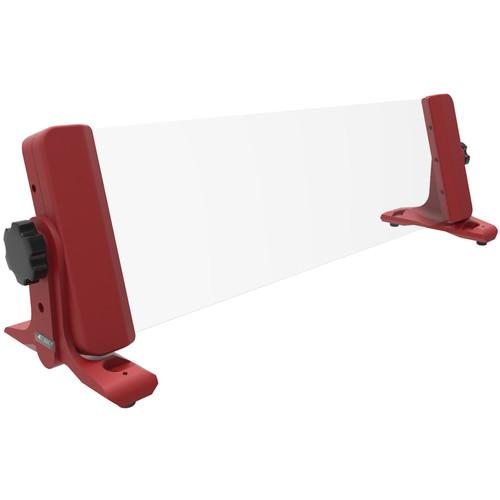4TEKY 3 RU Rack for Desktop/Wall/Rack + Screen Protection (Red)