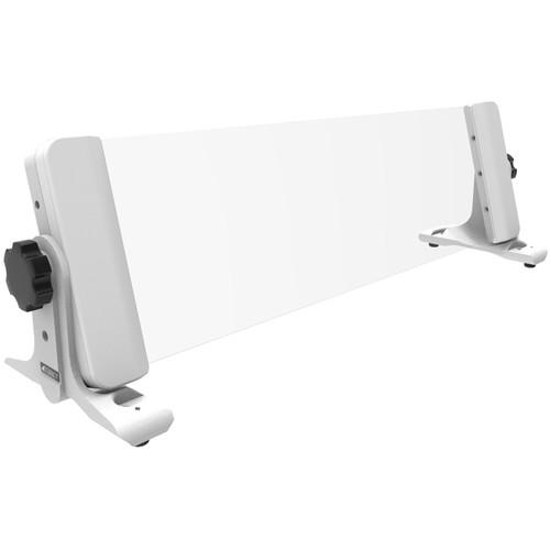 4TEKY 3 RU Rack for Desktop/Wall/Rack + Screen Protection (White)