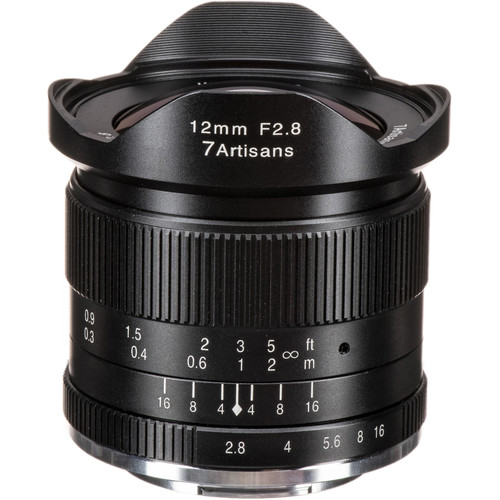 7artisans Photoelectric 12mm f/2.8 Lens for Fujifilm X