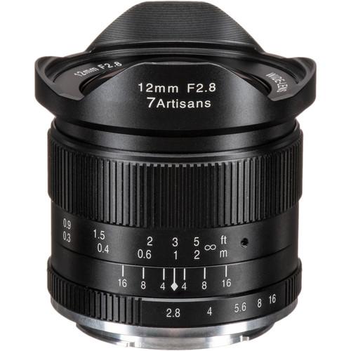 7artisans Photoelectric 12mm f/2.8 Lens for Sony E