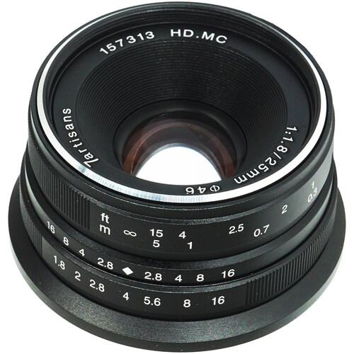 7artisans Photoelectric 25mm f/1.8 Lens for Sony E (Black)