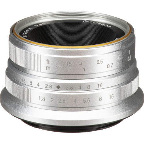 7artisans Photoelectric 25mm f/1.8 Lens for Sony E (Silver)