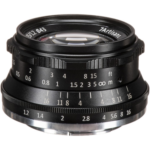 7artisans Photoelectric 35mm f/1.2 Lens for Fujifilm X-Mount Cameras (Black)