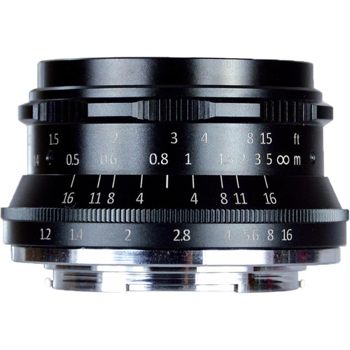 7artisans Photoelectric 35mm f/1.2 Lens for Micro Four Thirds Cameras (Black)