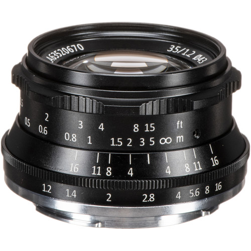 7artisans Photoelectric 35mm f/1.2 Lens for Sony E (Black)