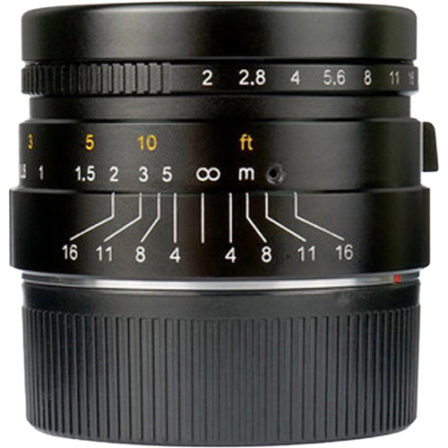 7artisans Photoelectric 35mm f/2 Lens for Leica M Cameras (Black)