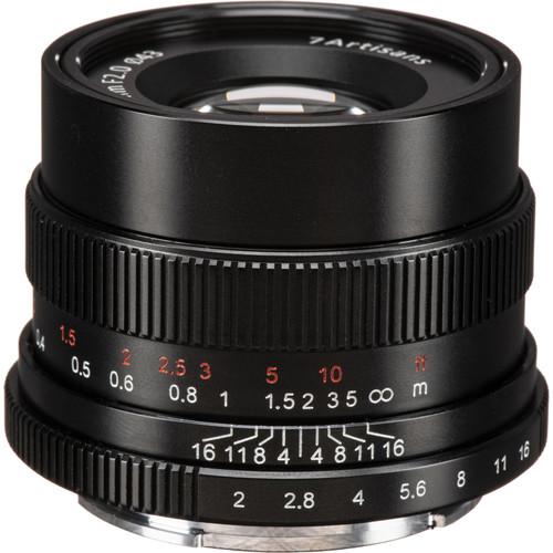 7artisans Photoelectric 35mm f/2 Lens for Sony E-Mount Cameras (Black)