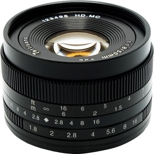 7artisans Photoelectric 50mm f/1.8 Lens for Canon EF-M