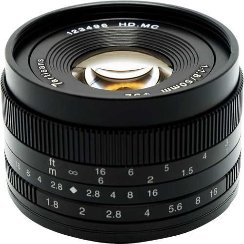 7artisans Photoelectric 50mm f/1.8 Lens for Canon EF-M
