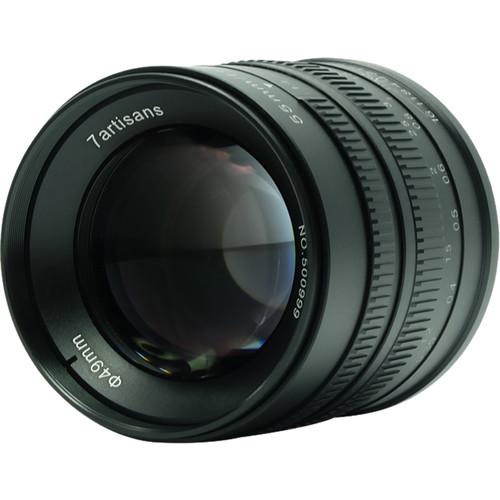 7artisans Photoelectric 55mm f/1.4 Lens for Canon EF-M (Black)