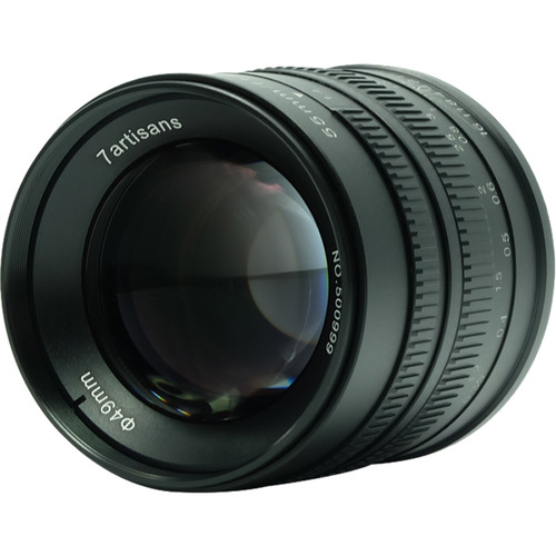 7artisans Photoelectric 55mm f/1.4 Lens for Canon EF-M