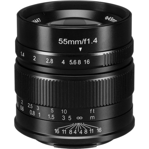 7artisans Photoelectric 55mm f/1.4 Lens for Fujifilm X-Mount Cameras