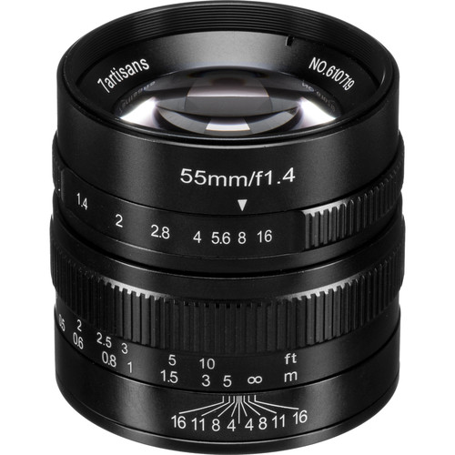 7artisans Photoelectric 55mm f/1.4 Lens for Micro Four Thirds (Black)