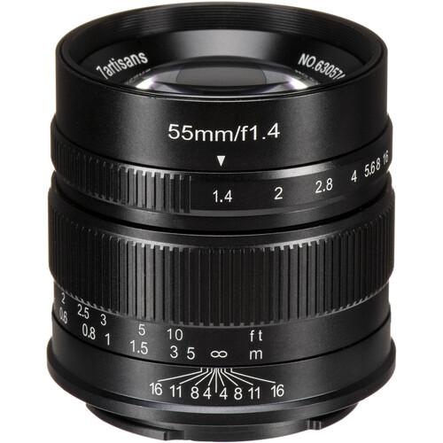 7artisans Photoelectric 55mm f/1.4 Lens for Sony E