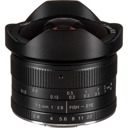 7artisans Photoelectric 7.5mm f/2.8 Fisheye Lens for Micro Four Thirds