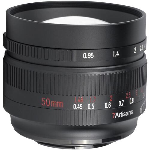 7artisans Photoelectric 50mm f/0.95 Lens for FUJIFILM X