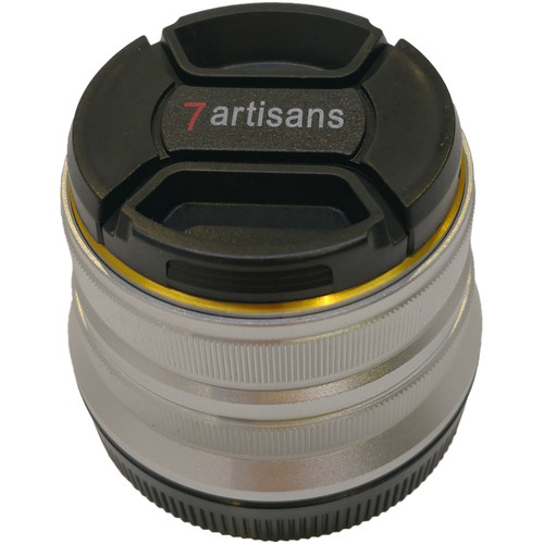7artisans Photoelectric 25mm f/1.8 Lens for Canon EF-M (Silver)