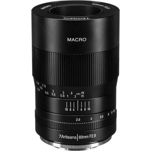 7artisans Photoelectric 60mm f/2.8 Macro Lens for FUJIFILM X