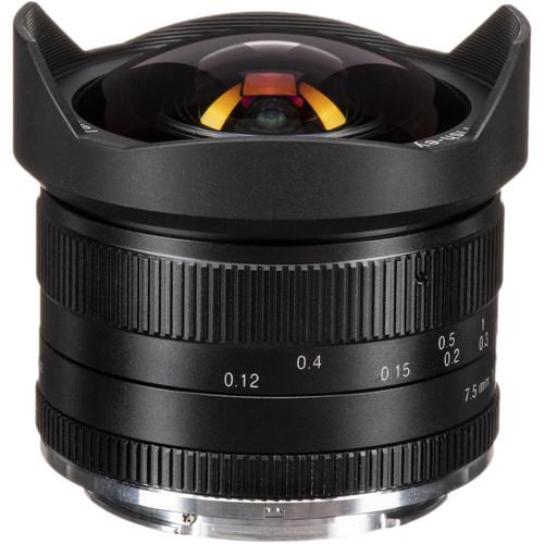 7artisans Photoelectric 7.5mm f/2.8 Fisheye Lens for Canon EF-M