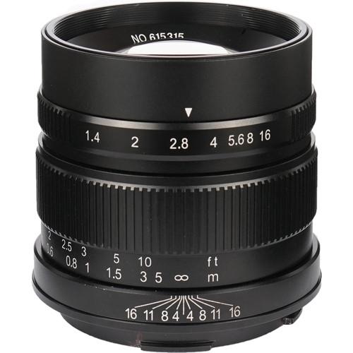 7artisans Photoelectric 55mm f/1.4 Lens for Leica L (Black)