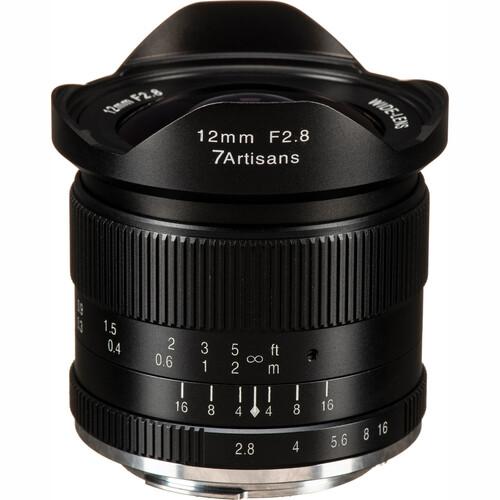 7artisans Photoelectric 12mm f/2.8 Lens for Canon EF-M