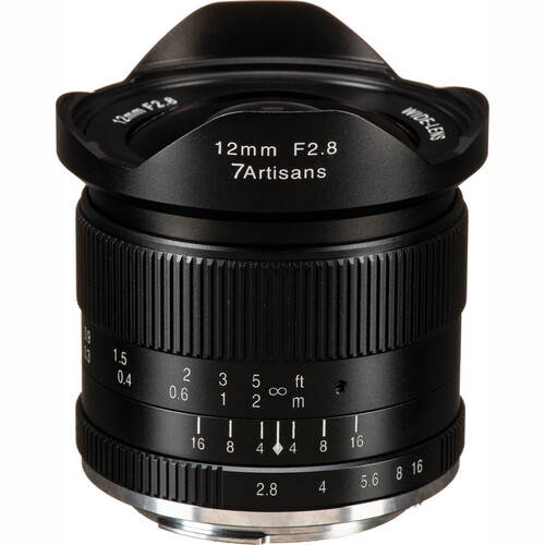 7artisans Photoelectric 12mm f/2.8 Lens for Canon EF-M