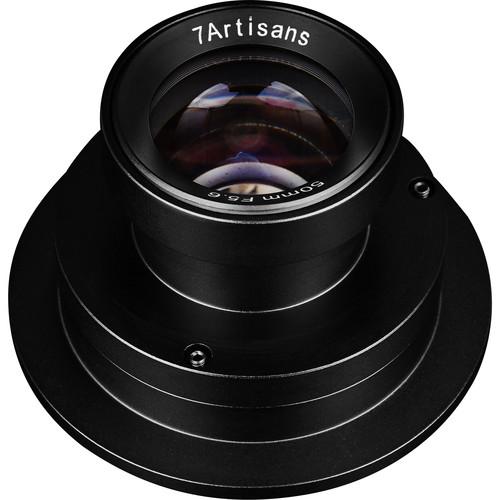 7artisans Photoelectric Unmanned Aerial Vehicle Lens 50mm F5.6 Full Frame (Black)