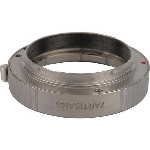7artisans Photoelectric Transfer Ring for Leica-M Mount Lens to Sony E-Mount Camera (Titanium)