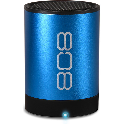 808 Audio Canz2 Portable Wireless Bluetooth Speaker (Blue)