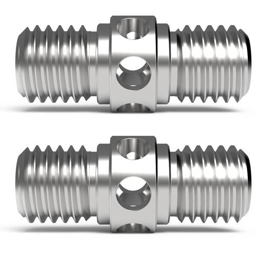 8Sinn 15mm Rod Connectors (2-Pack)