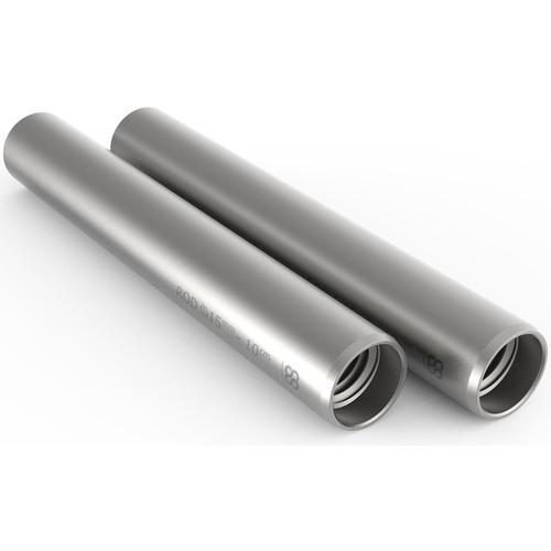"""8Sinn 15mm Silver Rod (3.9"""", Pair)"""