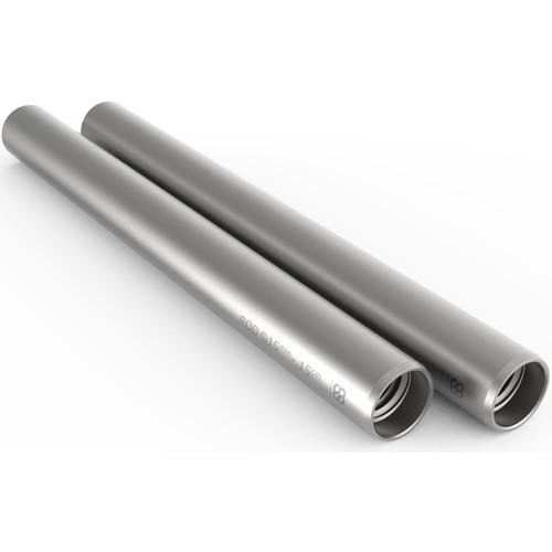 """8Sinn 15mm Silver Rod (5.9"""", Pair)"""