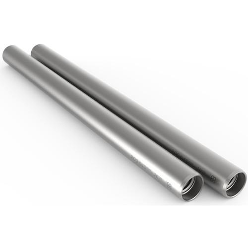 """8Sinn 15mm Silver Rod (7.9"""", Pair)"""