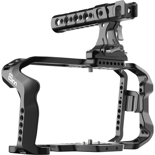 8Sinn Cage with Top Handle Pro & Clamp for Blackmagic Design Pocket Cinema Camera 4K/6K