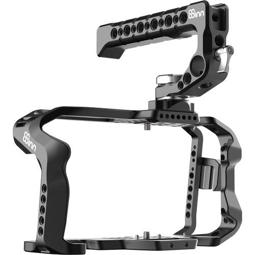 8Sinn Cage with Top Handle Scorpio & Clamp for Blackmagic Design Pocket Cinema Camera 4K/6K