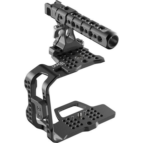 8Sinn Half Cage for Blackmagic Design Pocket Cinema Camera 4K with Top Handle Pro