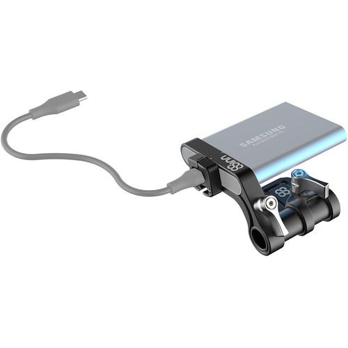 8Sinn Cold Shoe SSD Holder for Samsung T5